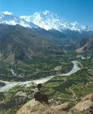 Nice picture of Hunza Valley