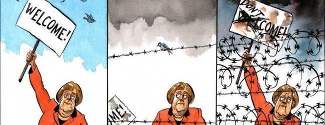 Merkel-Welcome