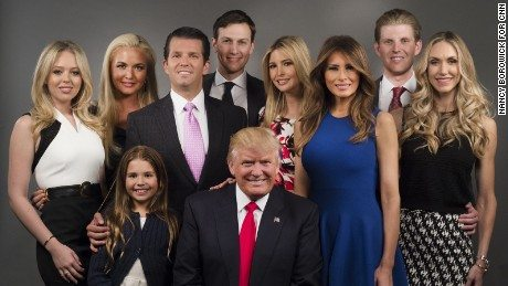 Image result for Trump Family