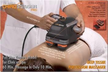 Chirossager Pro Full Body Deep Percussor Massager
