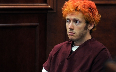 James Holmes, on trial for the mass shooting of 12 people in ColoradoÂ
