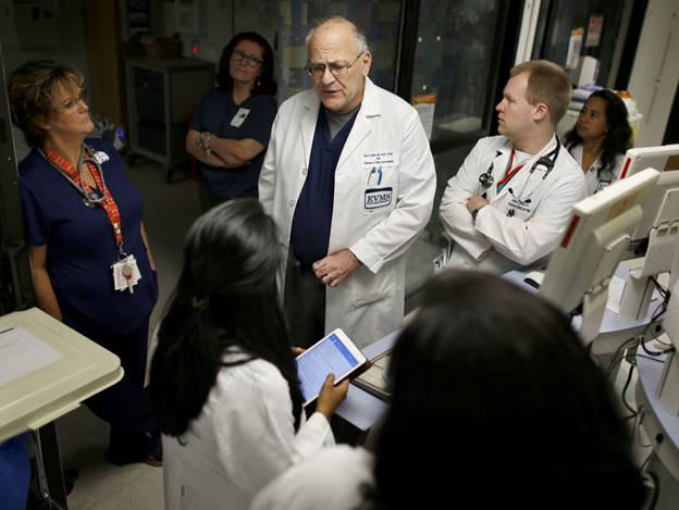 Dr. Paul Marik is using a new combination of drugs to treat sepsis