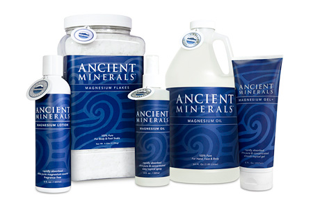 Ancient Minerals Magnesium Chloride Products