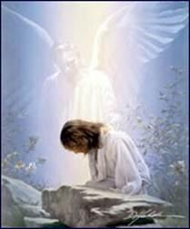 Description: Jesus is praying