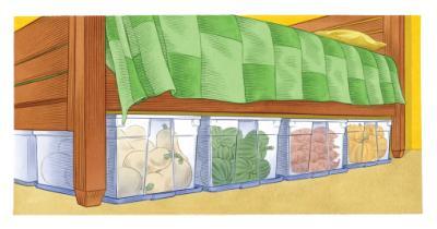 Descrição: Storage Crops In Bedroom