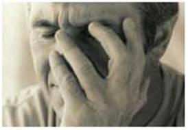 A man with magnesium deficiency