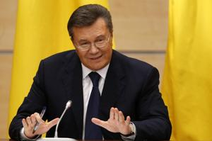 Ukraine's Fugitive President 'Did Not Flee'