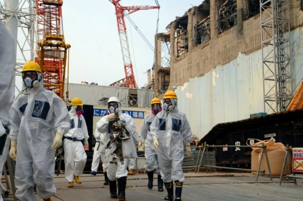 Experts at Fukushima