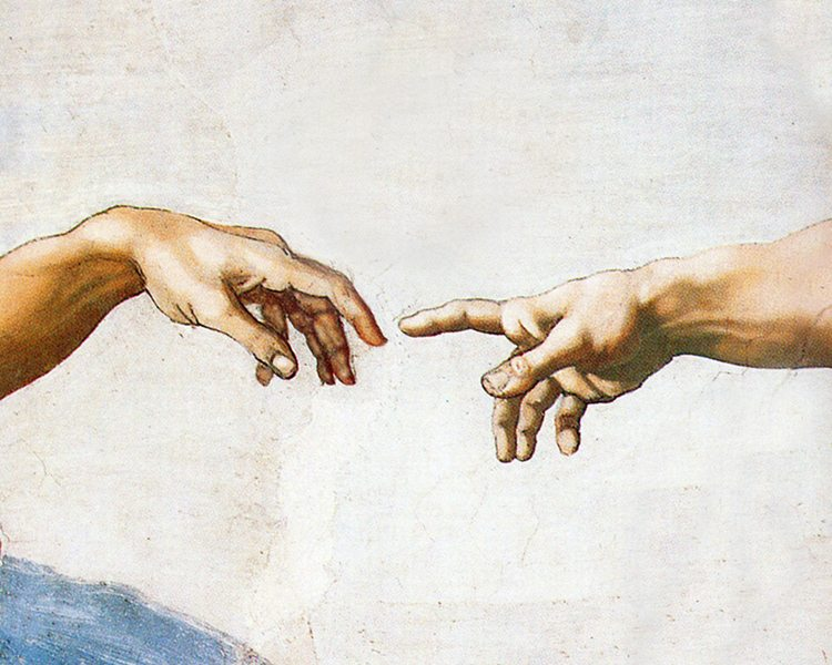 Michelangelo The Creation of Adam