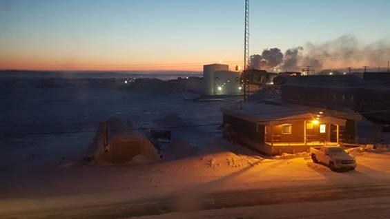 Rankin Inlet freeze