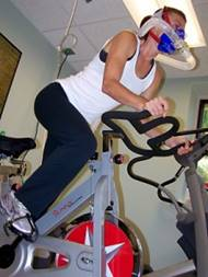 o2spinning 225x300 Exercise With Oxygen Therapy