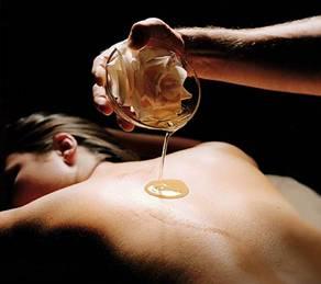 Transdermal magnesium massage