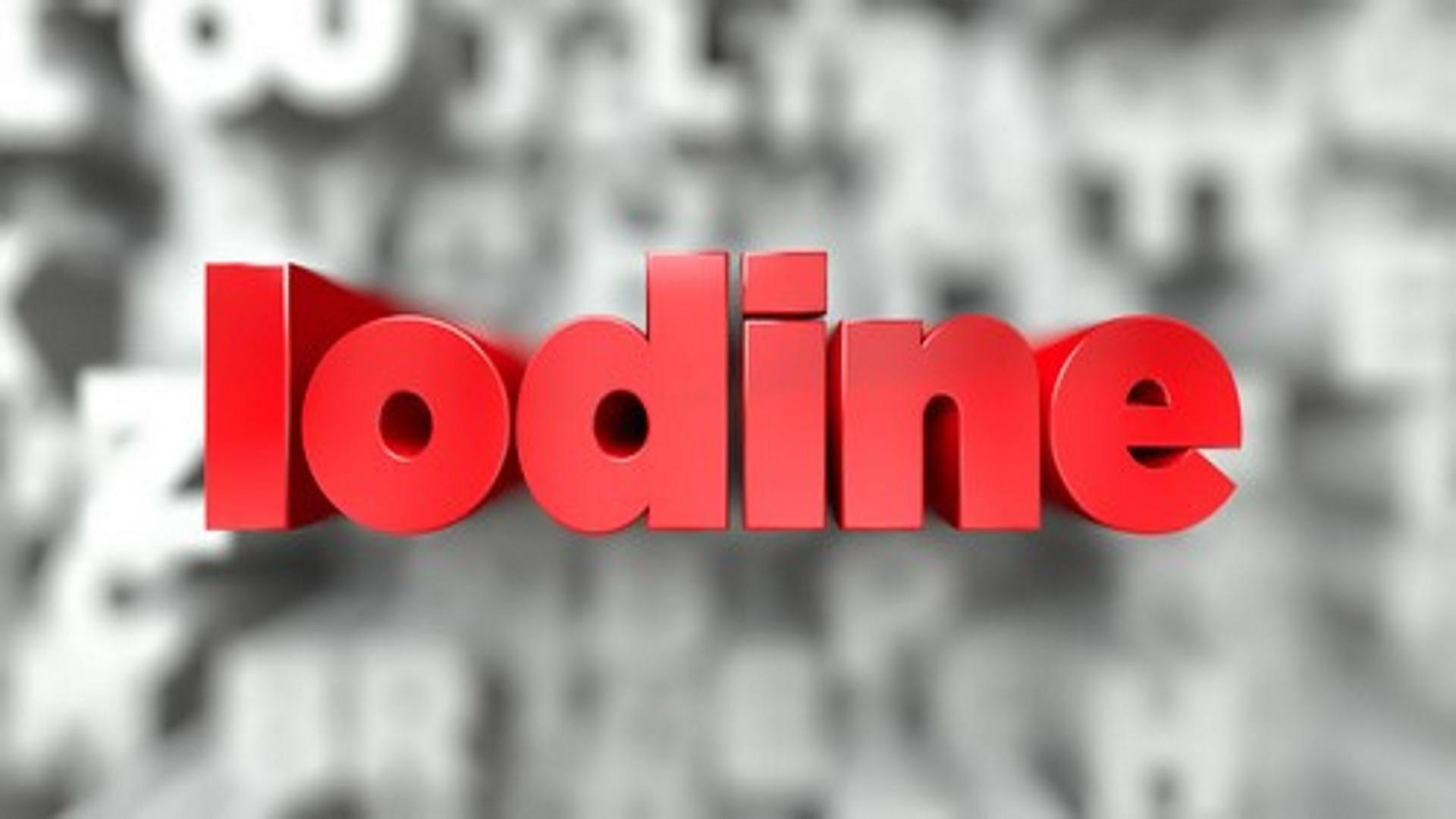 Iodine Awareness Week – Antimicrobial Resistance Emergency