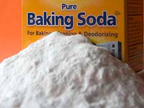 Reducing Radiation Damages with Sodium Bicarbonate (Baking Soda)