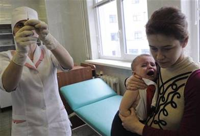 Description: Ukraine Vaccine Scare