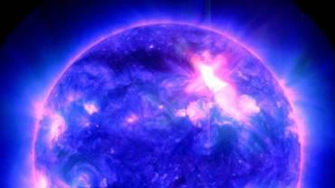 Description: m9 solar flare jan 23